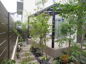 リ ガーデンの魅力! 雑木の庭・・・・